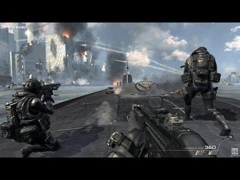Assaulting the Submarine - Hunter Killer - Call of Duty: Modern Warfare 3