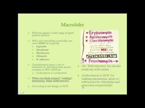 Antibacterials - CRASH! Medical Review Series