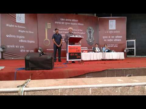 Hamid Ansari's key note address at the RTI national convention