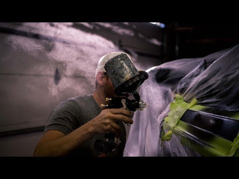 Fiberglass Repair: How To Repair and Spray Metal Flake on Boats