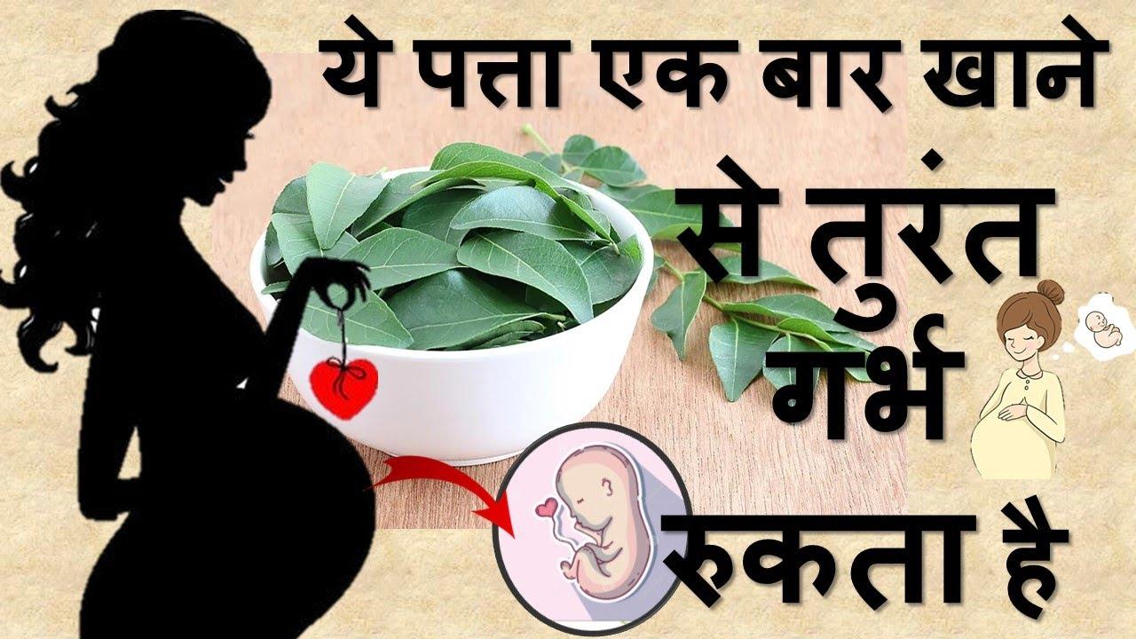 ये पत्ता एक बार खाने से तुरंत गर्भ रुकता है । Infertility | Curry leaves for fertility