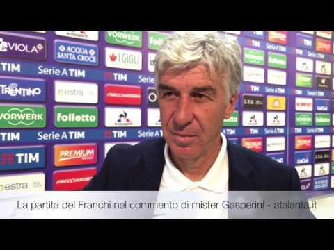 Fiorentina-Atalanta nel commento di Gian Piero Gasperini