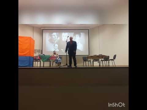 Ринат Камалиев. Евтушенко - Поэт в России (репетиция).