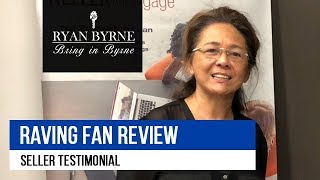 Luinita Raving Fan Review for Ryan Byrne Real Estate Agent California