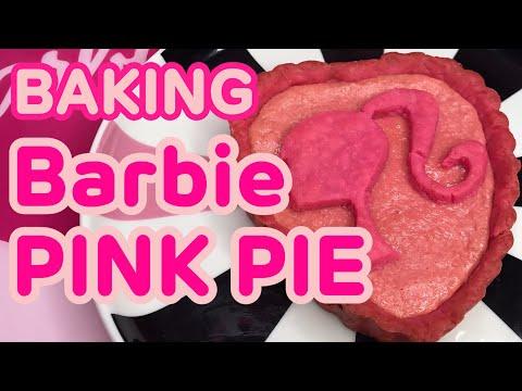[COOKING] BARBIE PINK HEART PIE♡AZUSA BARBIE
