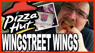 Pizza Hut ★ Wingstreet Wings ★ Honey Garlic Vs Honey Bbq Review