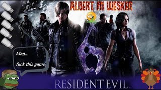 PC - Resident Evil 6 - Leon Campaign - First full playthrough - Normal Difficulty