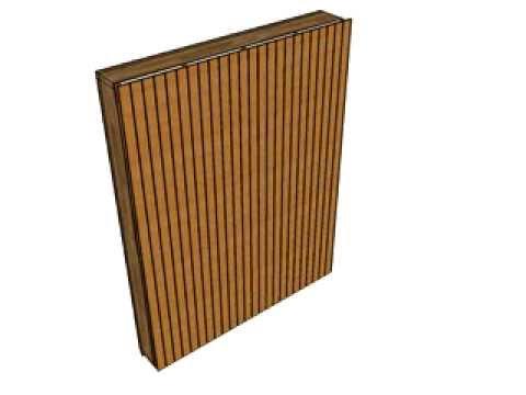 DAWO wooden wall element movie