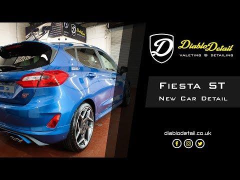 Fiesta ST New Car Detail & Ceramic Coating with Nanolex SiShield