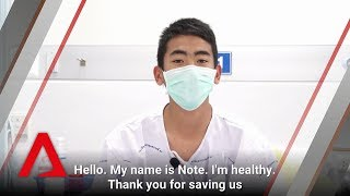 Thai cave rescue: Interview with Wild Boars and coach Ek