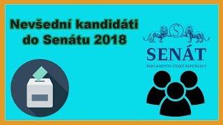 Volby 2018 - Nevšední kandidáti do Senátu
