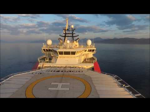 Deep Explorer - Dive Support Vessel - Sea trials - Norway, Vard, Technip