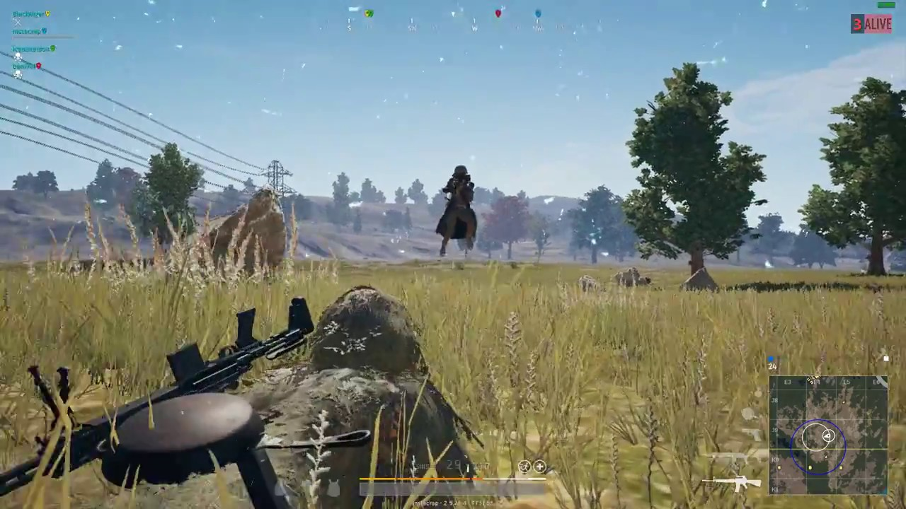 Pubg Wallpaper Ghillie Suit: Best Way To Use A Ghillie Suit! PUBG GHILLIE SUIT WIN