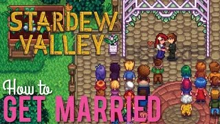 How to get Married in Stardew Valley