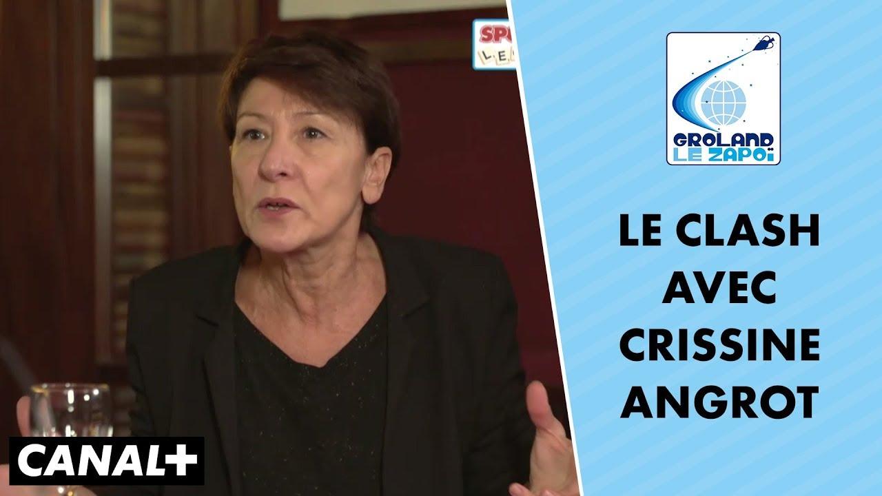Clash Entre Crissine Angrot Et Francis Kuntz Dans Un Livre Un Dos Le Zapoi Du 21 10 Canal