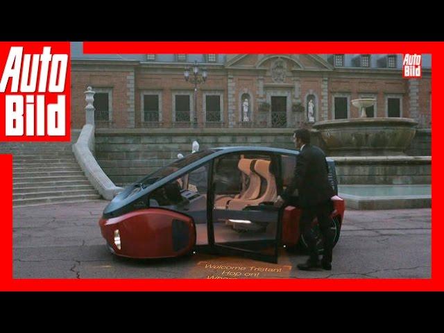 Rinspeed Concept Studie Oasis (2017) - So sieht die Elektro Zukunft aus - Neuvorstellung/Review