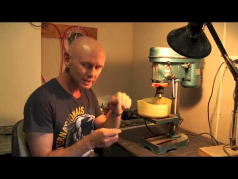 How to Drill opal Safely with a drill press by blackopaldirect.com