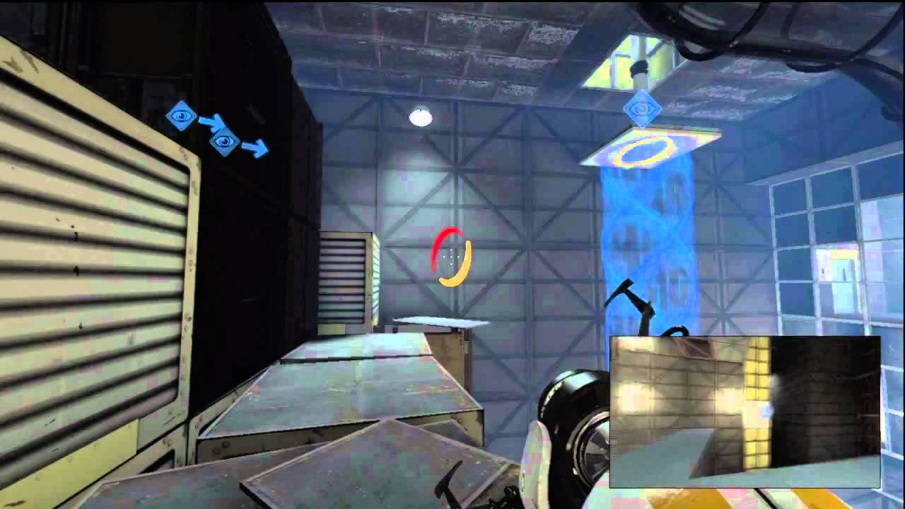 Portal 2 Co-op Course 4 Last Level 9 Guide with Commentary