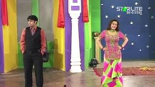 PAKISTANI STAGE DRAMA COMEDY CLIP OF ZAFRI KHAN, NARGIS AND NASEEM VICKY
