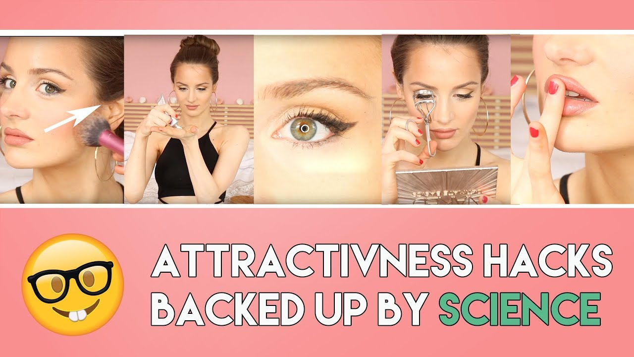 9 ways to INSTANTLY look more ATTRACTIVE - Scientific tricks on how to  look prettier  PEACHY