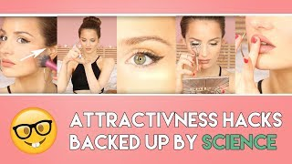 10 ways to INSTANTLY look more ATTRACTIVE - Scientific tricks on how to look prettier | PEACHY