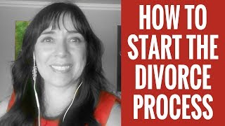How to Start the Divorce Process