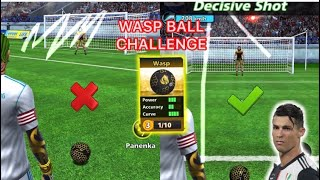 FOOTBALL STRIKE WASP BALL CHALLENGE WITH CRAZY TRICKS GAMEPLAY KING CAP GAMING