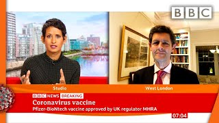 UK first country to approve coronavirus vaccine for widespread use ???? @BBC News live - BBC