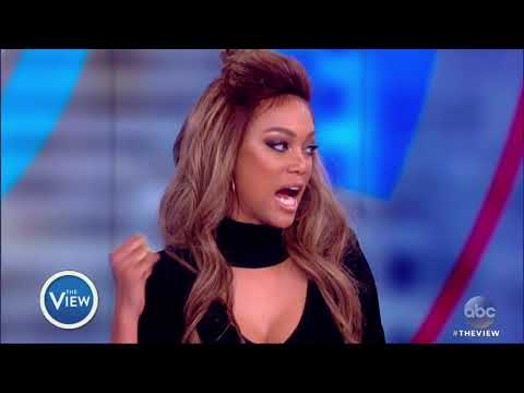 Tyra Banks, Mom Carolyn London On Banks' Road To Success  The View