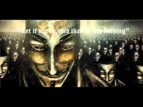 MILLION MASK MARCH NOV. 5TH 2013 THEME SONG! ANONYMOUS