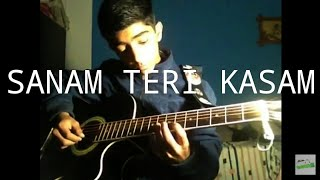 Sanam teri kasam title song| tutorial | single string on guitar very easy to play