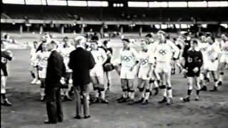1956 Melbourne Olympics Footage VAFA v VFL VFA Aussie Rules Match
