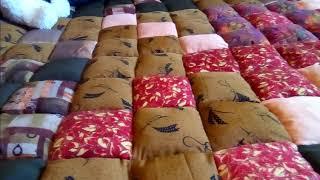 Шью из старья... ))) DIY При пошиве одеяла ни одна новая ткань не пострадала. )) Лоскутики.