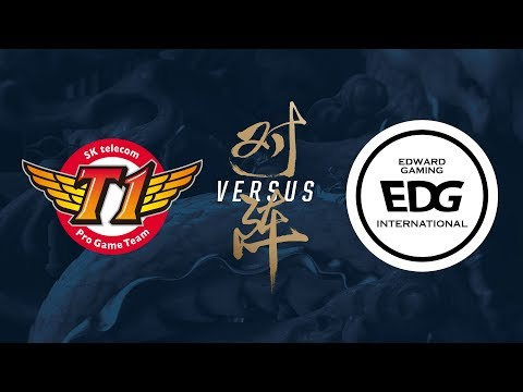 SKT vs. EDG | Group Stage Day 8 | 2017 World Championship |