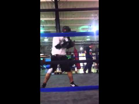 Angelo Ibay : Light sparring session