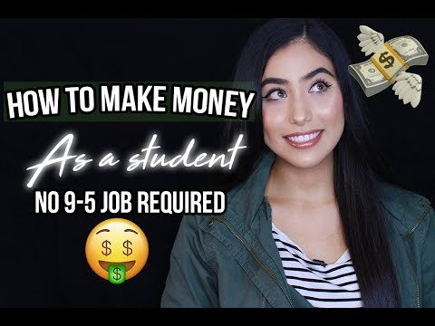 HOW TO MAKE MONEY AS A COLLEGE/UNI STUDENT - My Top Side Hustles