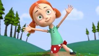 Мультфильм Ангелы Бэби - Не цари в природе (19 серия) | Поучительные мультики для детей