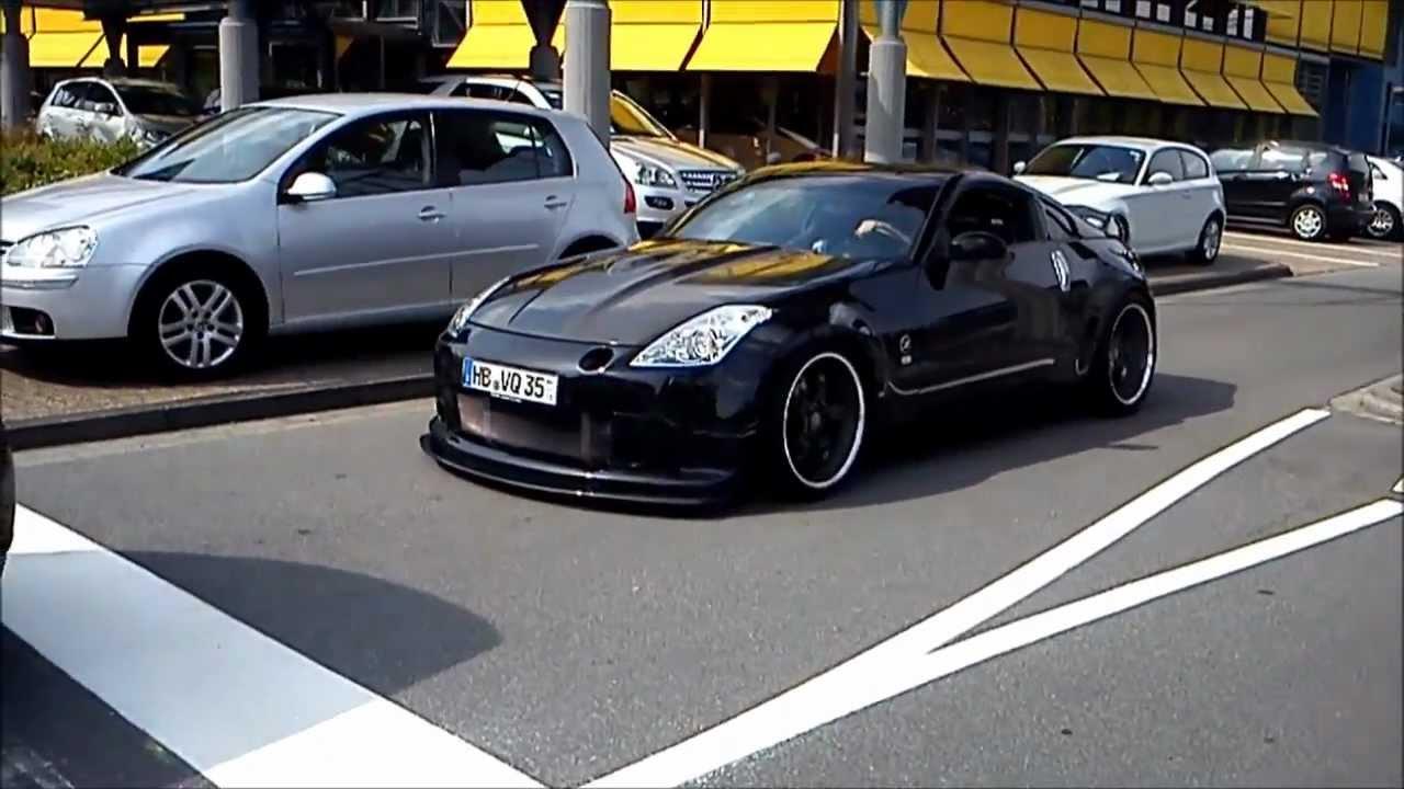 Nissan 350z Black Nismo Nissan 350Z Exhaust