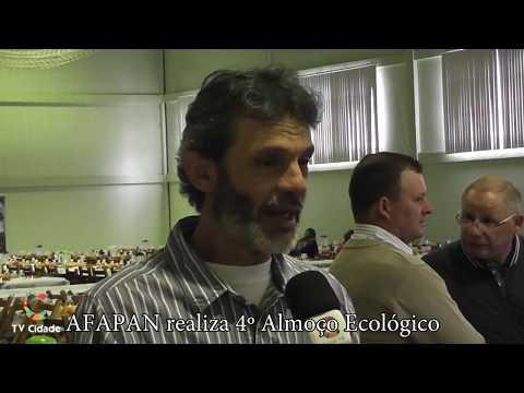 Almoço Ecológico da AFAPAN cobertura especial da TV Cidade no 4° Almoço