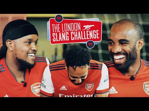 🤣 Aubameyang, Lacazette and Chunkz face the London Slang Challenge