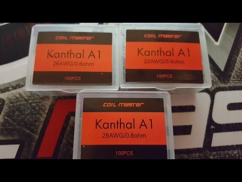 For On The Go Pre-Made Kanthal A1 Coil Review sold by Coil Master
