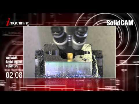 iMachining CAMvolution in 16MnCr5