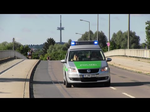 [VW Touran mit RTK6 LED] Reserve-FuStW Polizei Regensburg PI Süd