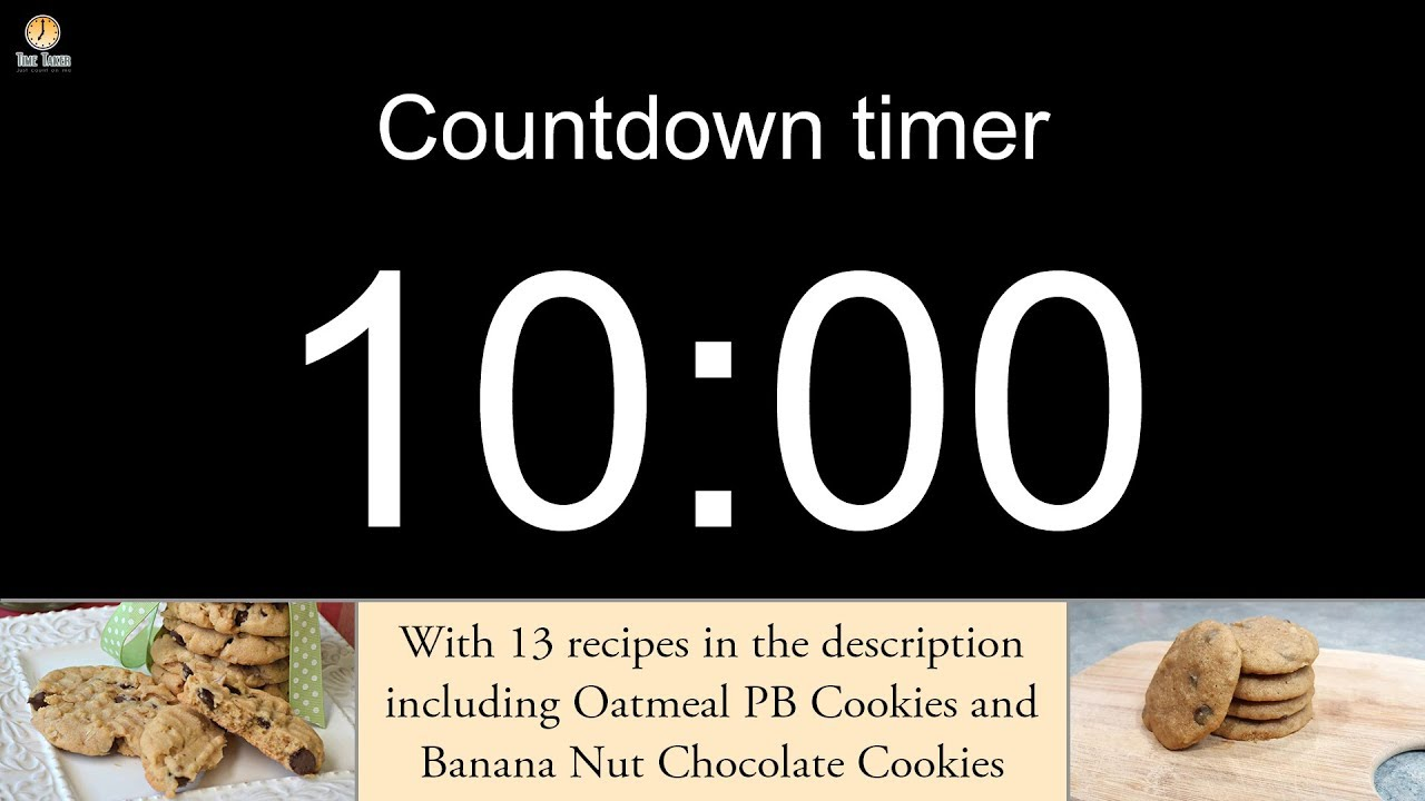 10 minute countdown timer with alarm youtube
