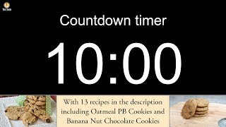 10 minute Countdown timer (with alarm)