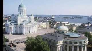 Сенатская площадь Хельсинки(Сенатская площадь по праву считается сердцем Хельсинки. Основной ее элемент - три здания, которые расположе..., 2014-08-21T13:44:21.000Z)
