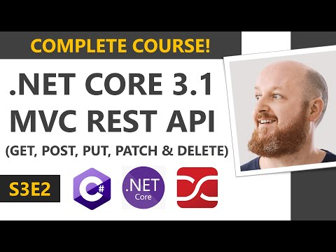 .NET Core 3.1 MVC REST API - Full Course
