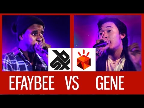 GENE (USA) vs EFAYBEE (FRA) | Grand Beatbox Battle 2015 |  FINAL
