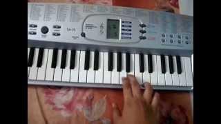 Rang Jo Lagyo~Ramayya Vastavayya~piano