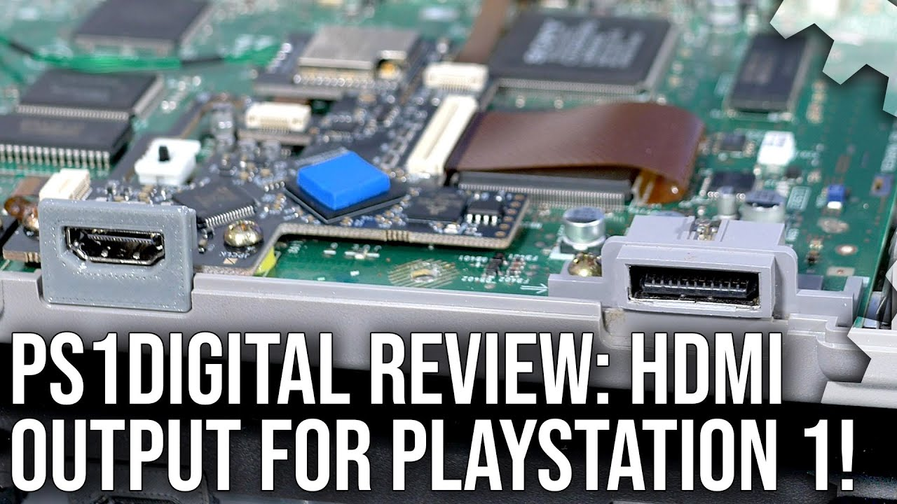 DF Retro Hardware: PS1Digital Review - HDMI for PlayStation 1 - Pristine Image Quality!
